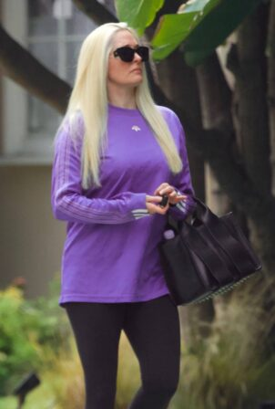 Erika Jayne - Out for a walk in Beverly Hills