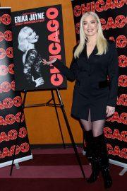 Erika Jayne - Posing at Chicago Broadway Photocall The Lamb's Club New York