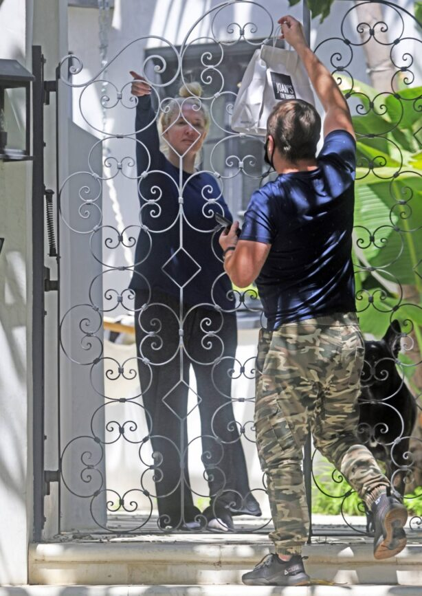 Erika Jayne - Seen after her marital mansion hits the market for $13 million in Los Angeles