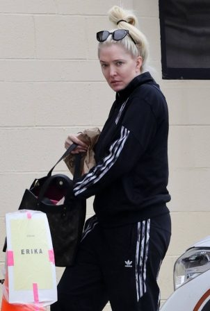 Erika Jayne - Seen while out in Burbank
