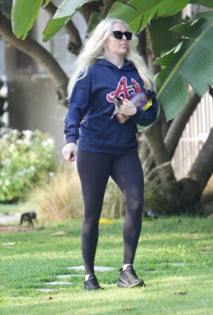 Erika Jayne - spotted going to a personal trainer in Beverly Hills