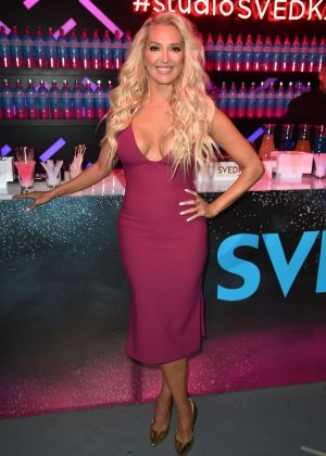 Erika Jayne - Supercharged Summer with SVEDKA Blue Raspberry in LA