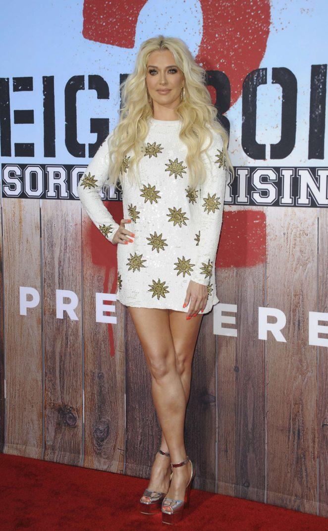 Erika Jayne - 'The Neighbors 2' Premiere in Los Angeles
