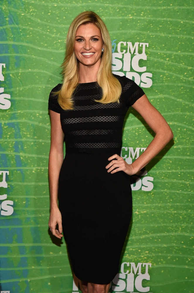 Erin Andrews - 2015 CMT Music Awards Press Preview Day in Nashville