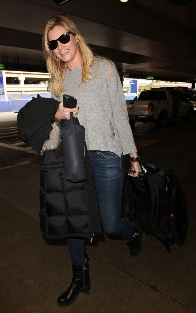 Erin Andrews: Arrives at LAX airport -08