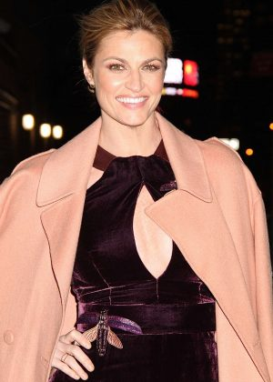 Erin Andrews - Arriving at 'The Late Show with Stephen Colbert' in NYC