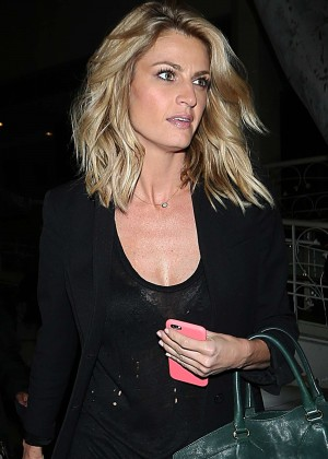 Erin Andrews - Outside Madeos in Los Angeles