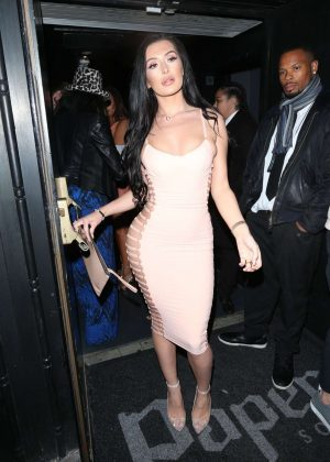 Erin Budina at The Sixty6 Magazine Launch With Erin Budina in London