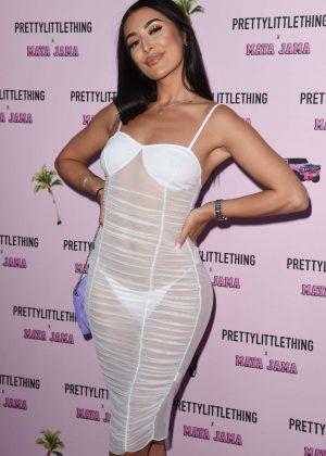 Erin Budina - PrettyLittleThing x Maya Jama Launch party in London
