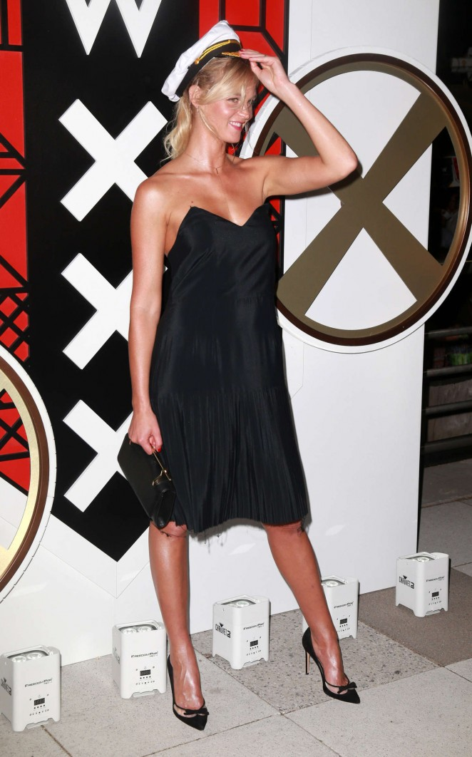 Erin Heatherton - All Aboard! W Hotels Toasts The Upcoming Opening Of W Amsterdam in NY