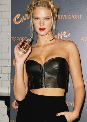 Erin Heatherton - Curve Sport Launch Party in NYC