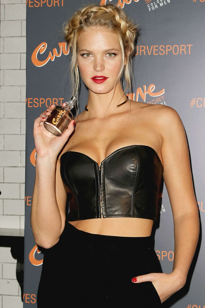 Erin Heatherton – Curve Sport Launch Party in NYC