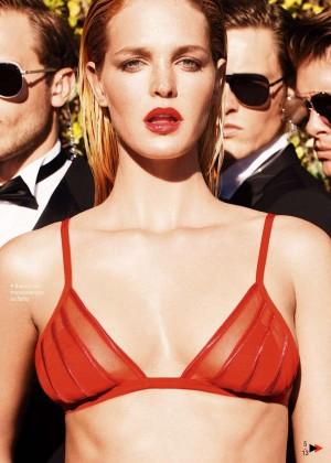 Erin Heatherton - GQ Spain Magazine (July/August 2015)