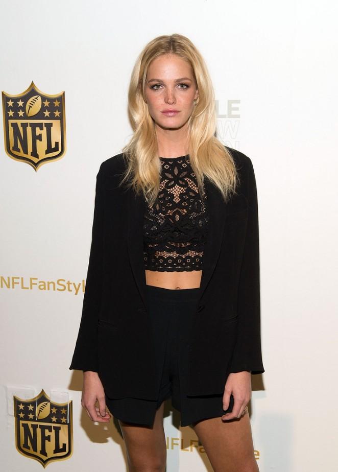 Erin Heatherton - NFL Women's Style Showdown on behalf of the Northwest in NYC