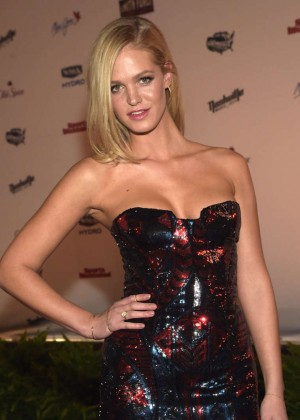 Erin Heatherton - SI 2015 Swimsuit Takes Over the Schermerhorn Symphony Center in Nashville