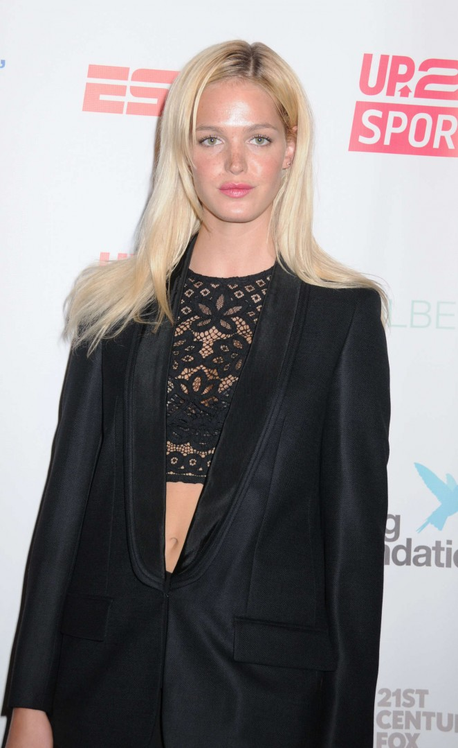 Erin Heatherton - Up2Us Sports Celebration of 5 Years of Change Through Sports in NYC