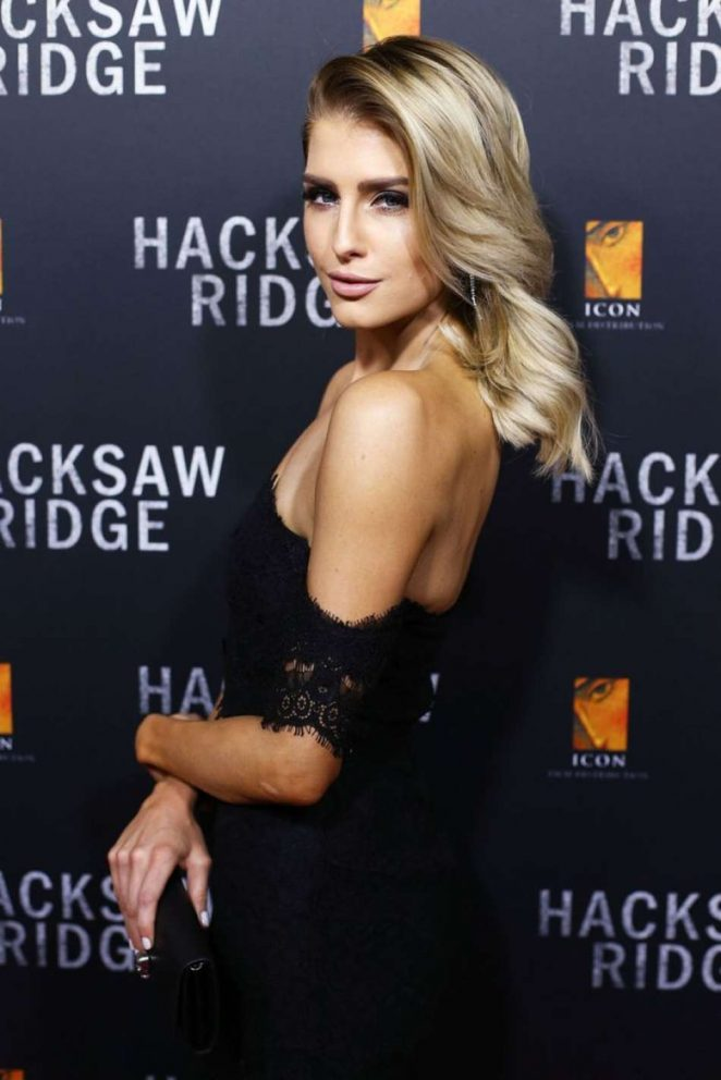 Erin Holland - 'Hacksaw Ridge' Premiere in Sydney