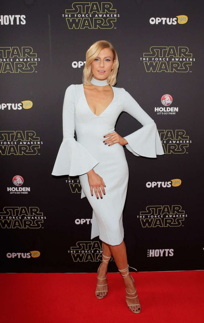 Erin Holland - 'Star Wars: The Force Awakens' Premiere in Sydney