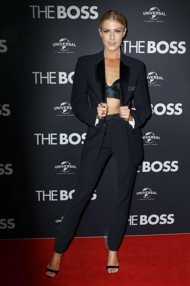 Erin Holland - 'The Boss' Premiere in Sydney