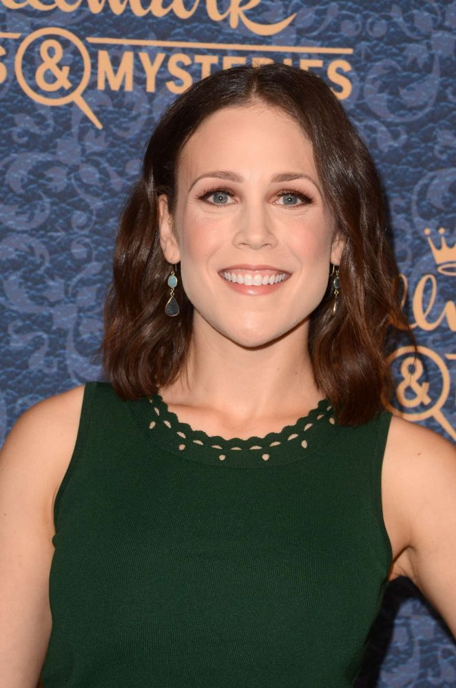 Erin Krakow - Garage Sale Mysteries at 2017 The Paley Center for Media in LA