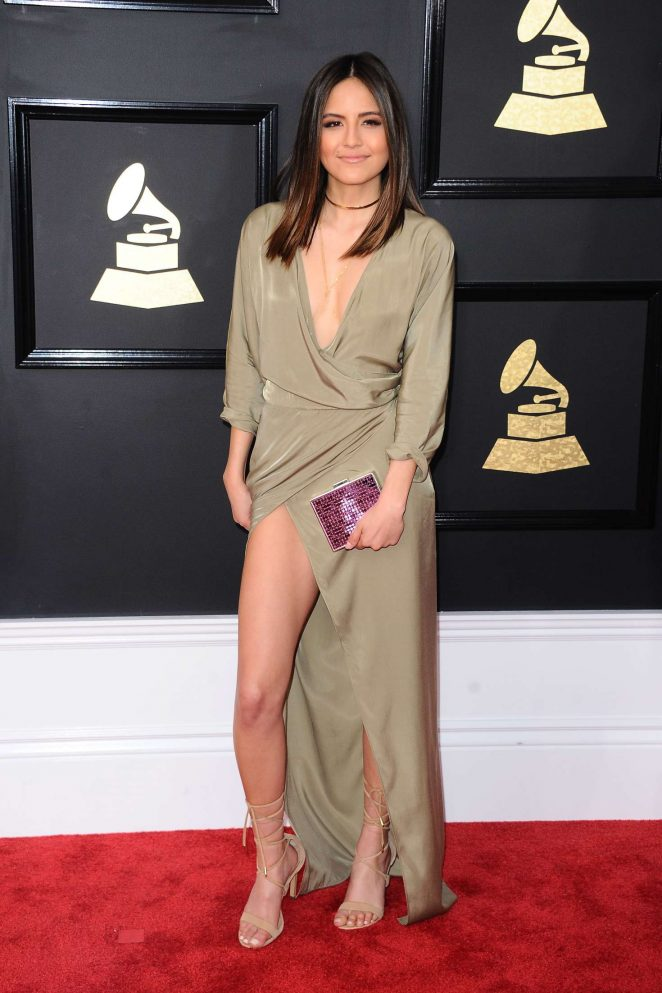 Erin Lim - 59th GRAMMY Awards in Los Angeles