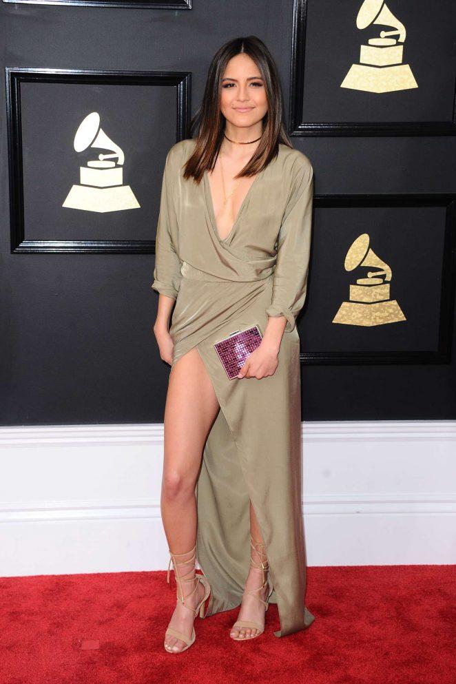 Erin Lim - 59th GRAMMY Awards in Los Angeles