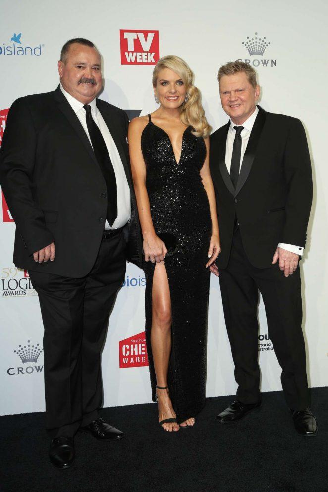 Erin Molan - 2017 Annual TV Week Logie Awards in Melbourne
