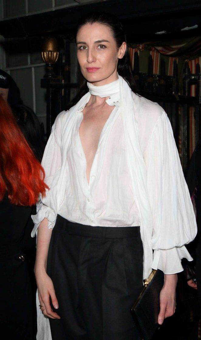 Erin O'Connor - Love Me 17 X Burberry Party in London
