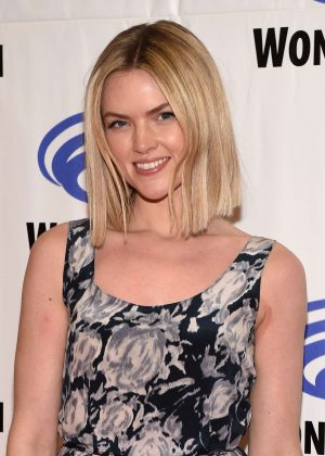 Erin Richards at Wondercon in Anaheim