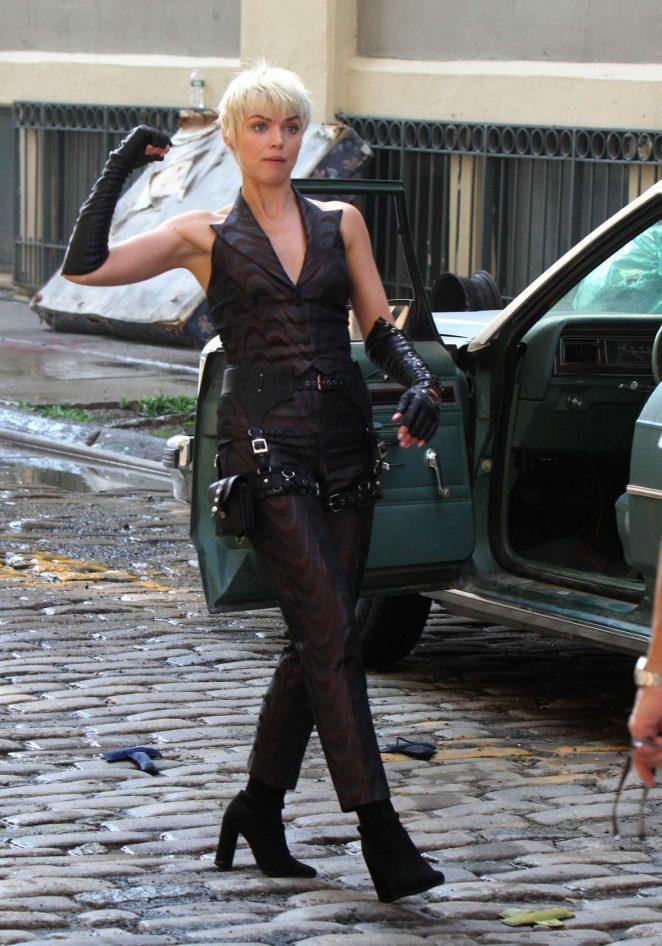 Erin Richards – Filming a Scene of 'Gotham' in Dumbo