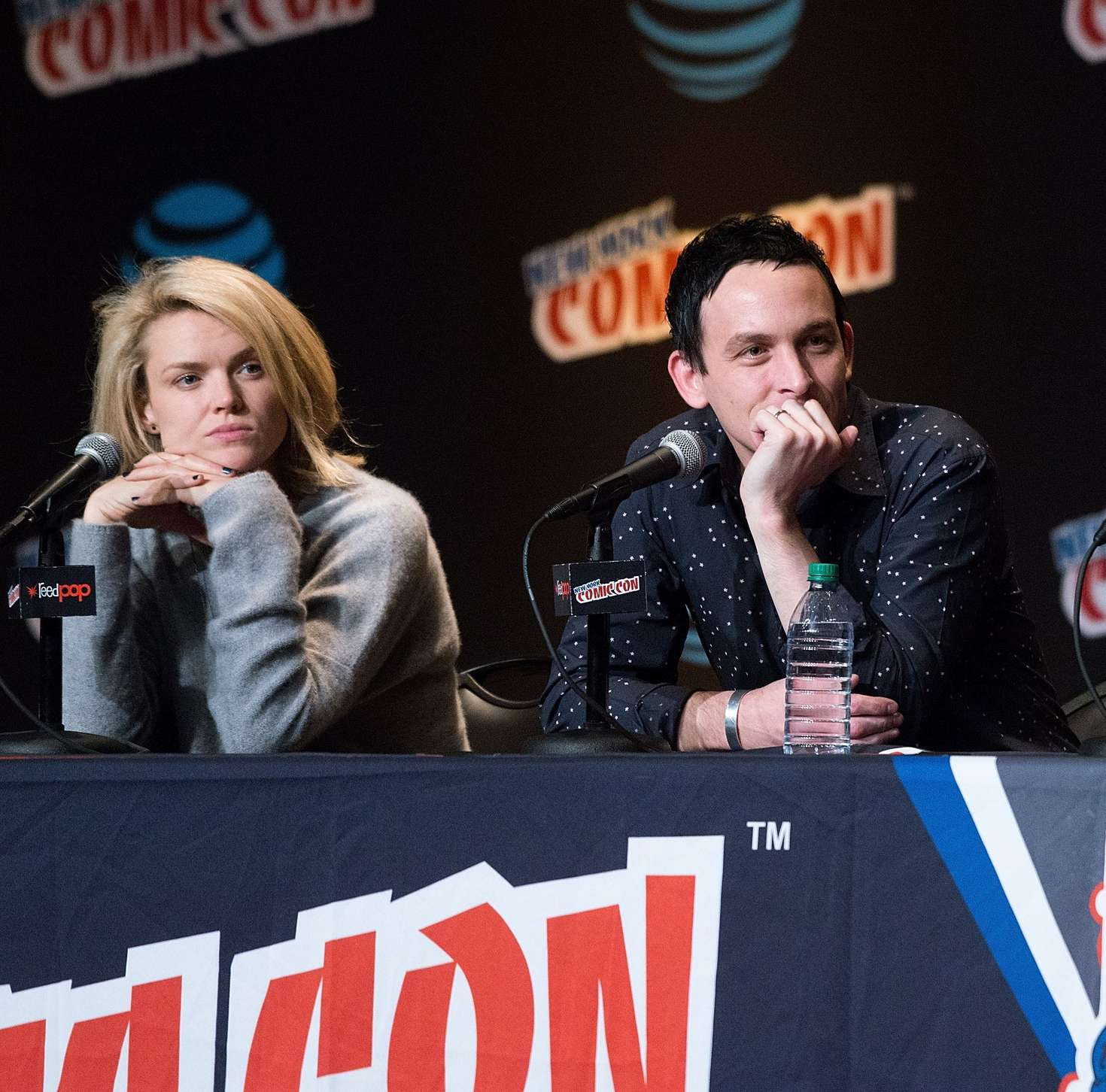 Erin richards gotham panel at new york comic con new pictures
