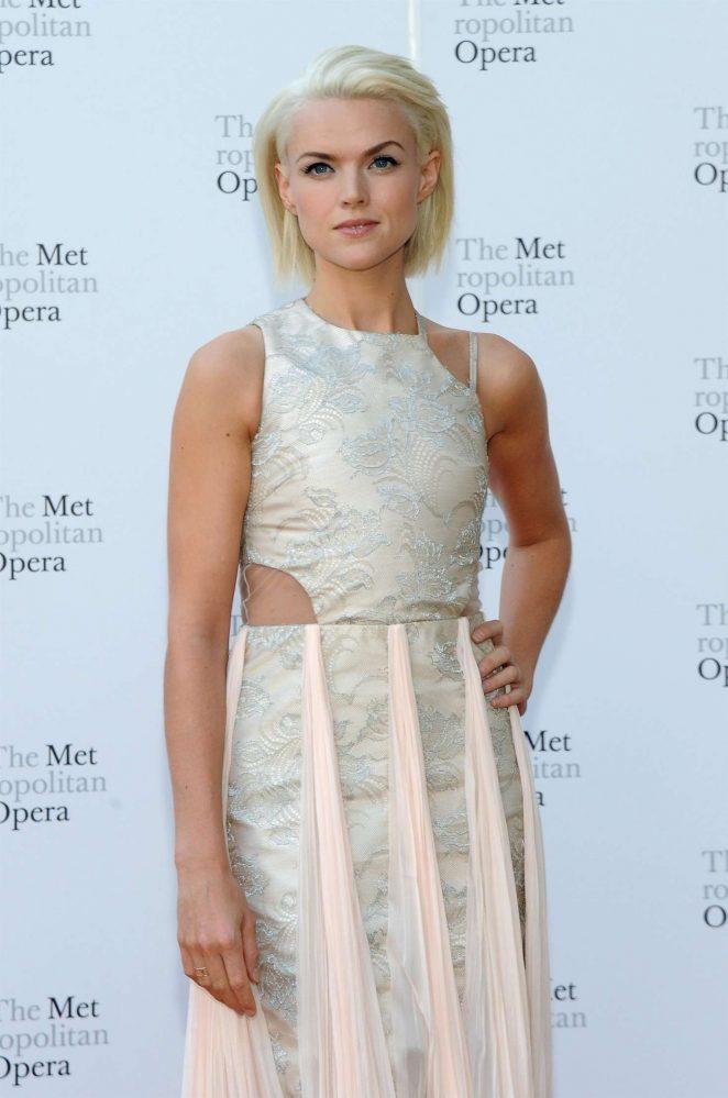 Erin Richards – Metropolitan Opera Opening Night Gala in New York