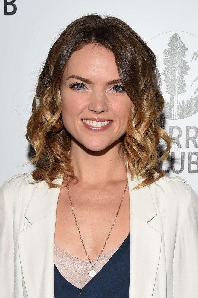 Erin Richards - Sierra Club's Act In Paris A Night Of Comedy And Climate Action in NY