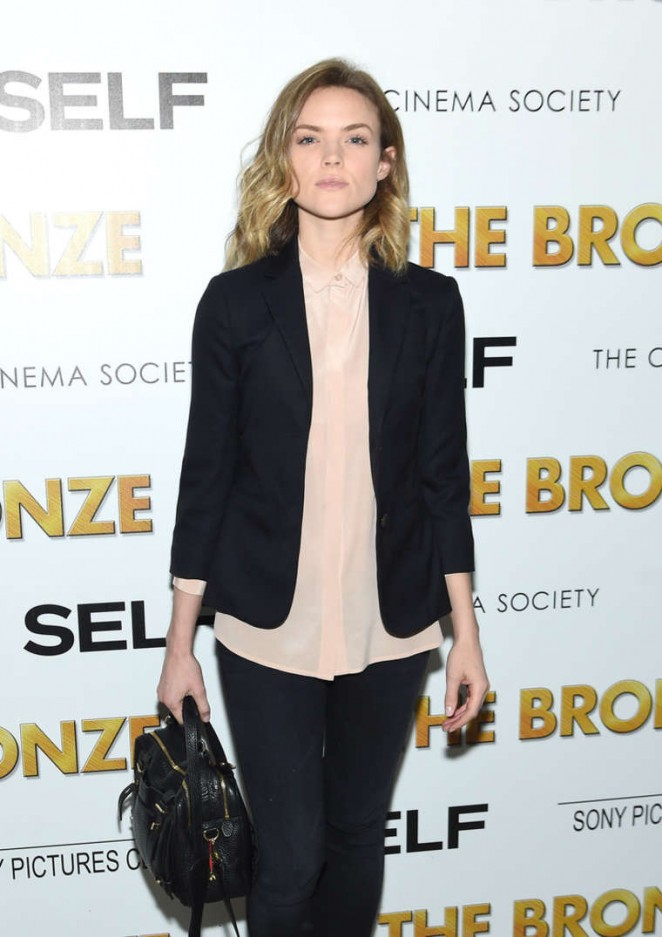 Erin Richards - 'The Bronze' Screening in NYC
