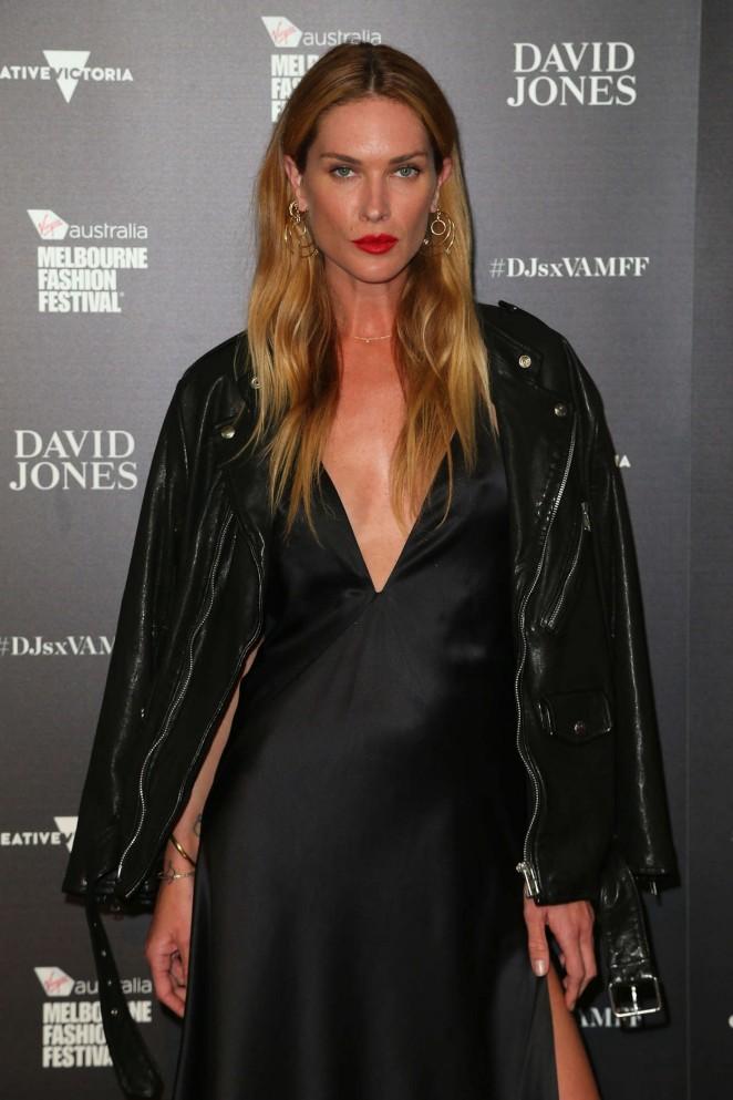 Erin Wasson – David Jones Opening Event at Melbourne Fashion Festival 2016 in Melbourne