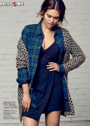 Esha Gupta - Juice Magazine (January 2015)