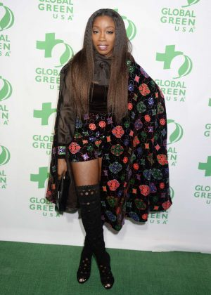 Estelle - 14th Annual Global Green Pre-Oscar Party in Los Angeles
