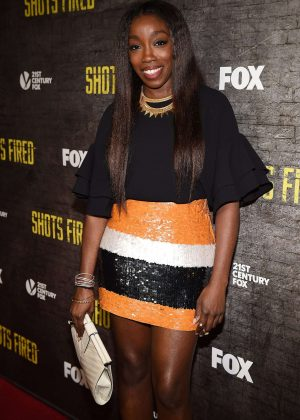Estelle - 'Shots Fired' TV Series Premiere in Los Angeles