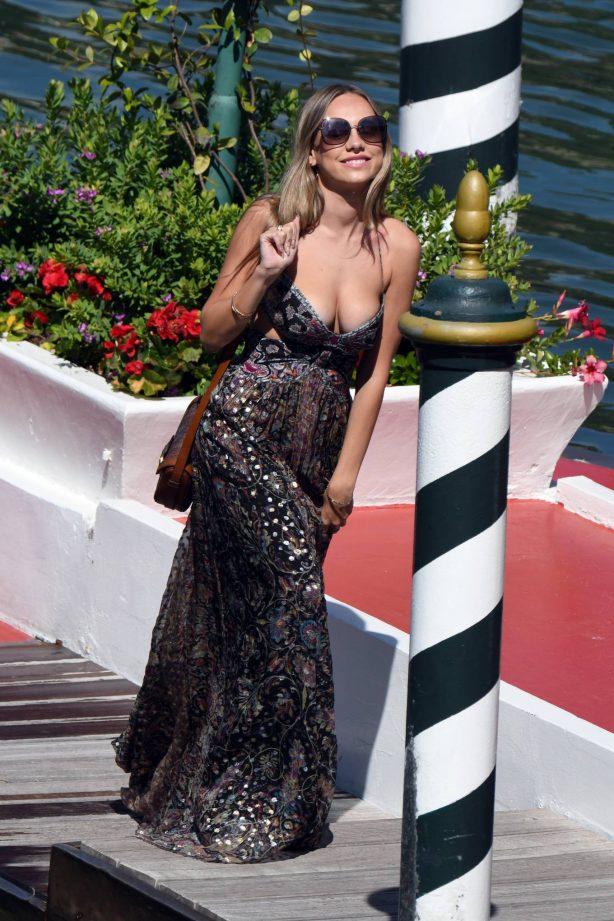 Ester Exposito - Seen arriving at 2020 Venice Film Festival in Venice