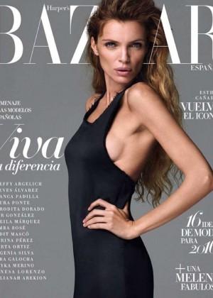 Esther Canadas - Harper's Bazaar Spain Magazine (January 2016)