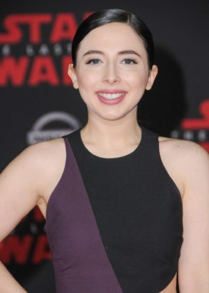 Esther Povitsky - 'Star Wars: The Last Jedi' Premiere in Los Angeles