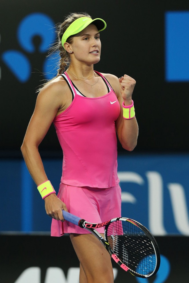Eugenie Bouchard - 2015 Australian Open in Melbourne