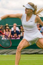 Eugenie Bouchard - 2019 Wimbledon Tennis Championships in London