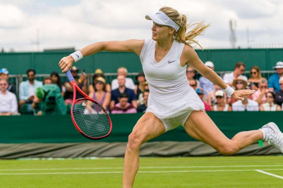 Eugenie Bouchard - 2019 Wimbledon Tennis Championships in London