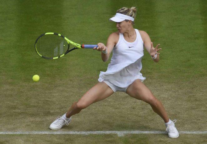 Eugenie Bouchard  - 2nd Round Match in Wimbledon