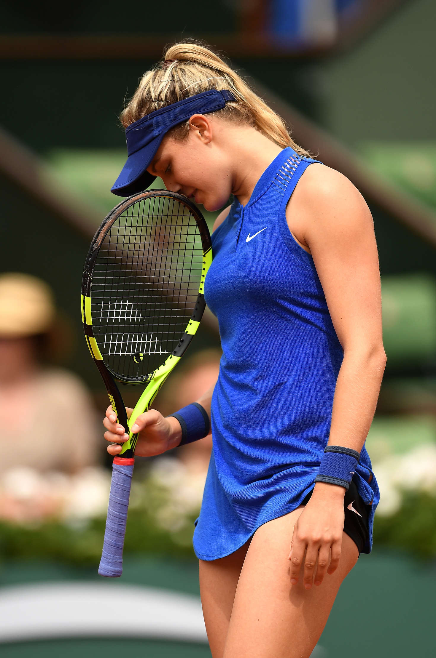 eugenie bouchard roland garros 2016 in paris gotceleb. Black Bedroom Furniture Sets. Home Design Ideas