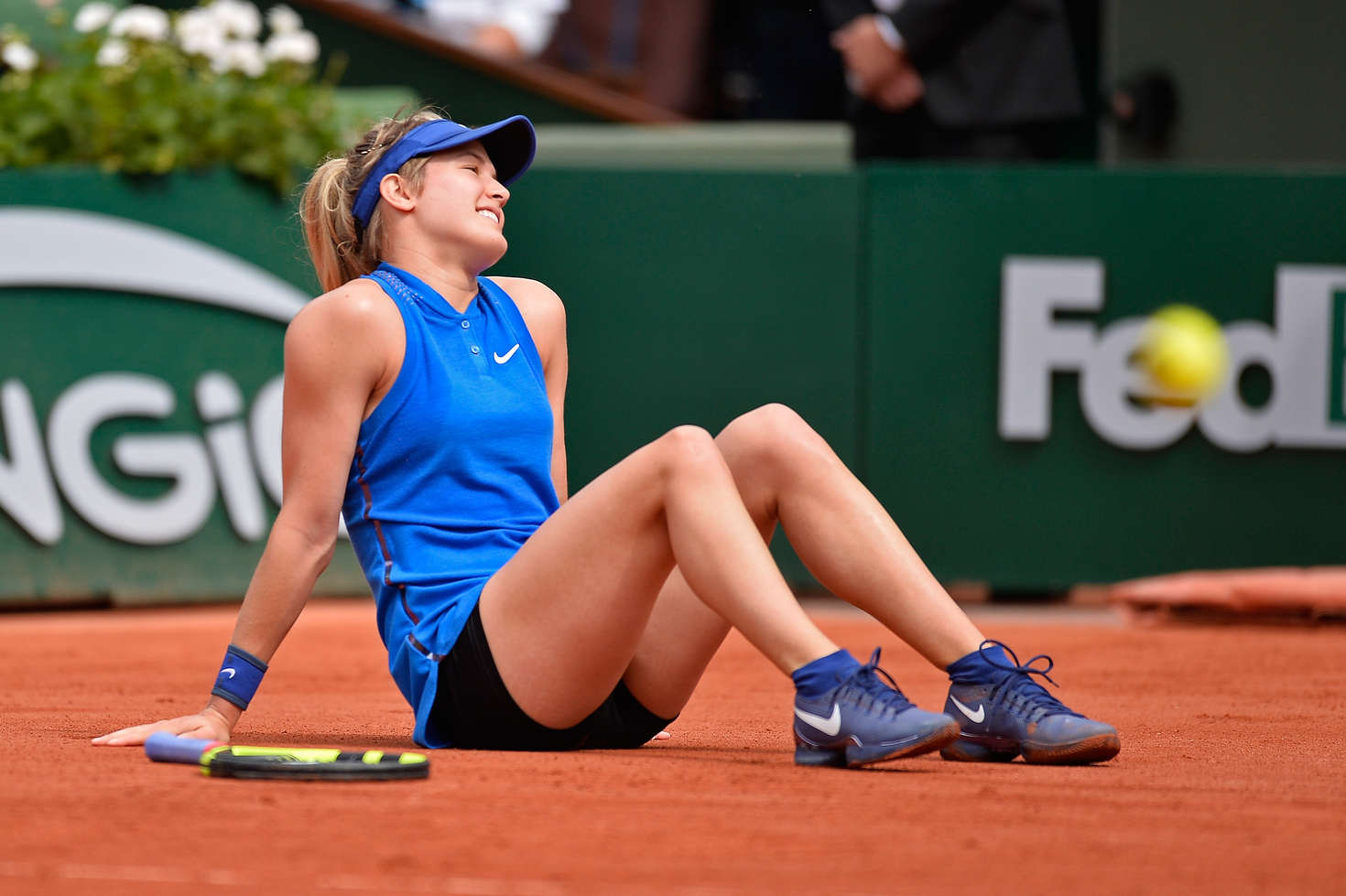 eugenie bouchard roland garros 2016 11 gotceleb. Black Bedroom Furniture Sets. Home Design Ideas