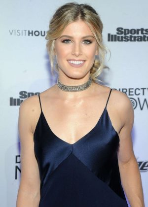 Eugenie Bouchard - Sports Illustrated Swimsuit Edition Launch Event in NY