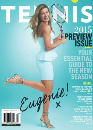 Eugenie Bouchard - Tennis Magazine (Jan/Feb 2015)