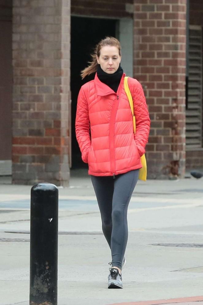 Eva Amurri in Tights Out in New York